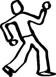 free vector Dancer Sketch clip art