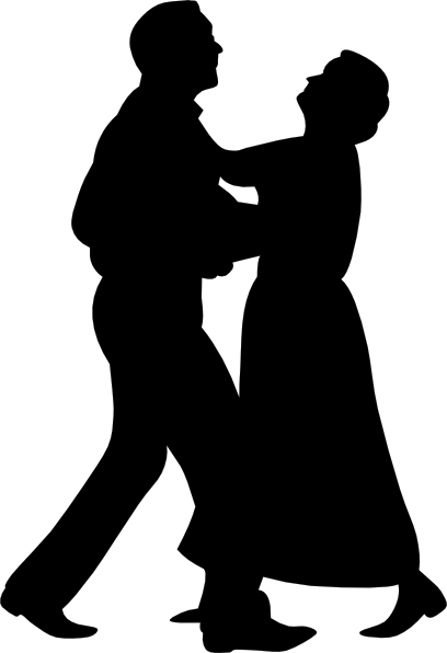 Dancing couple clip art free vector 4vector