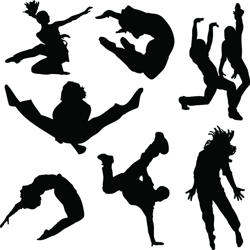 free clip art modern dance - photo #46