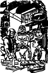 free vector Danger In Deep Space clip art
