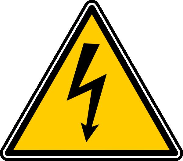 free vector Danger   Lectrique clip art