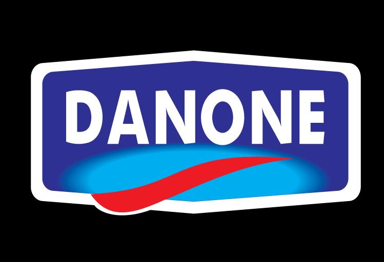 free vector Danone logo