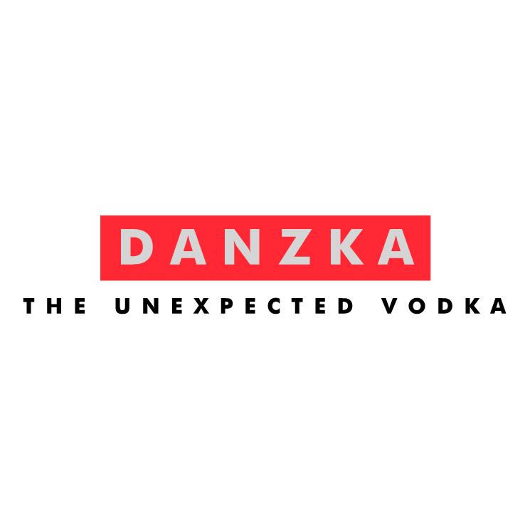 free vector Danzka vodka