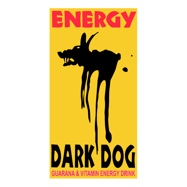 free vector Dark dog