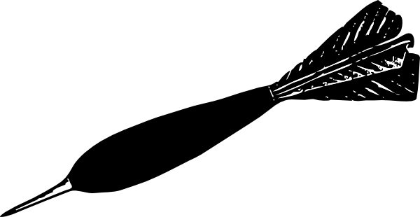 free vector Dart clip art