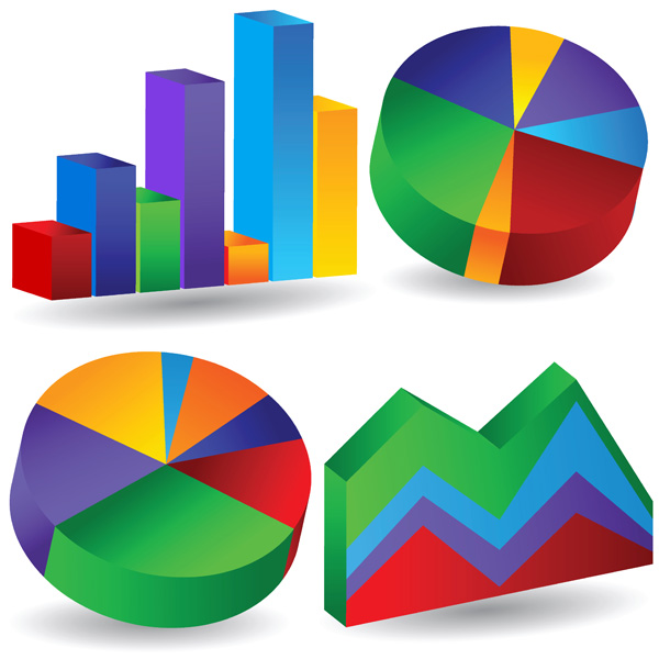 Data analysis and statistics icon vector Free Vector / 4Vector