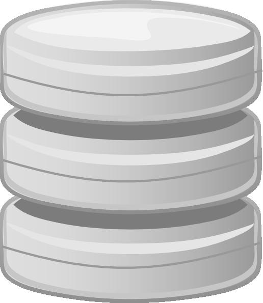 free vector Database, Base De Donn  E clip art