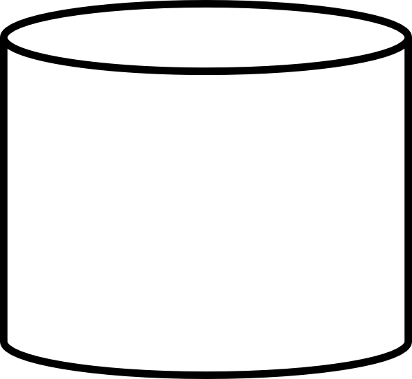 free vector Database Shape clip art