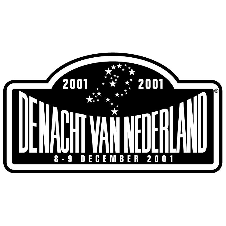 free vector De nacht van nederland 2001