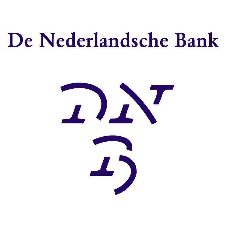 free vector De nederlandsche bank