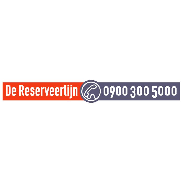 free vector De reserveerlijn