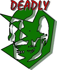 free vector Deadly Sign clip art