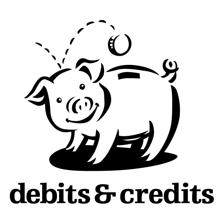 free vector Debits credits 0