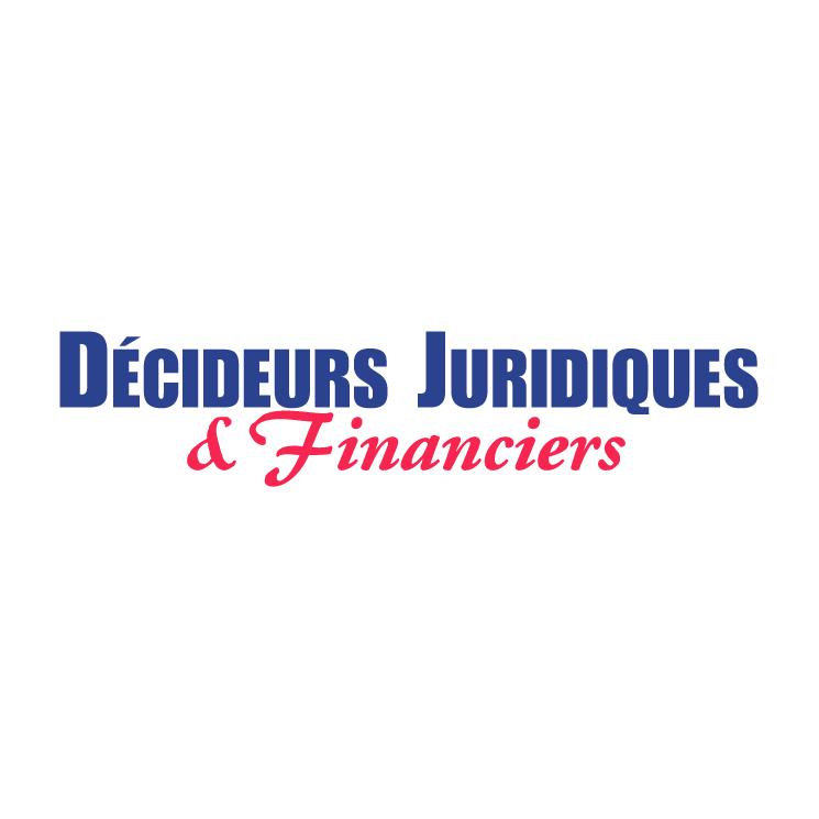 free vector Decideurs juridiques financiers