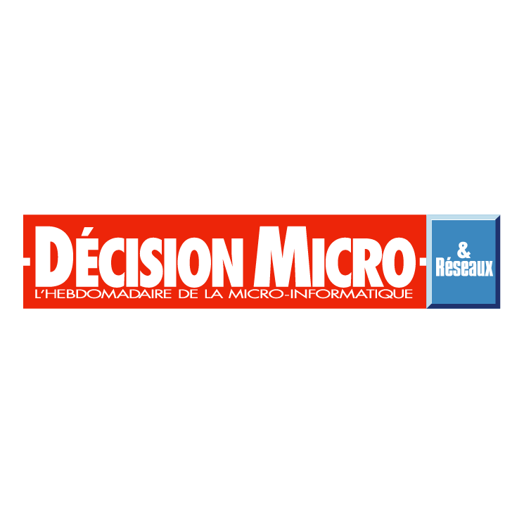 free vector Decision micro reseaux