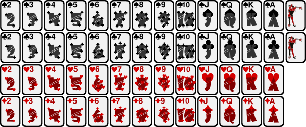 free vector Deck Of Playing Cards clip art
