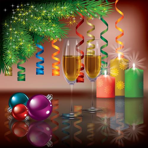 free vector Decorate Vector Christmas Ornament Ornaments Decor Decoration