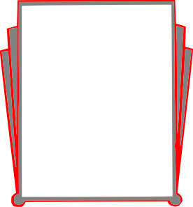 free vector Decorative Border Pages Book clip art