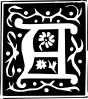 free vector Decorative Letter Set A clip art