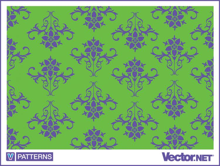 free vector Decorative Wallpaper Pattern