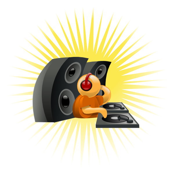 free vector Deejay clip art