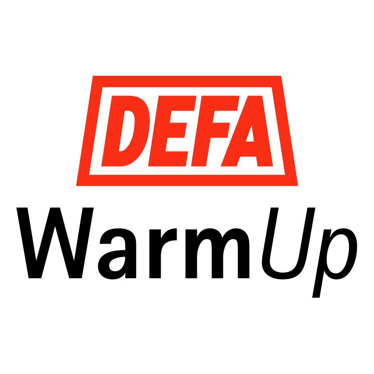 free vector Defa warmup
