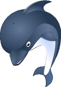 free vector Delfin clip art