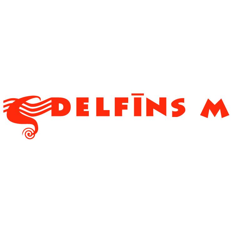 free vector Delfins m