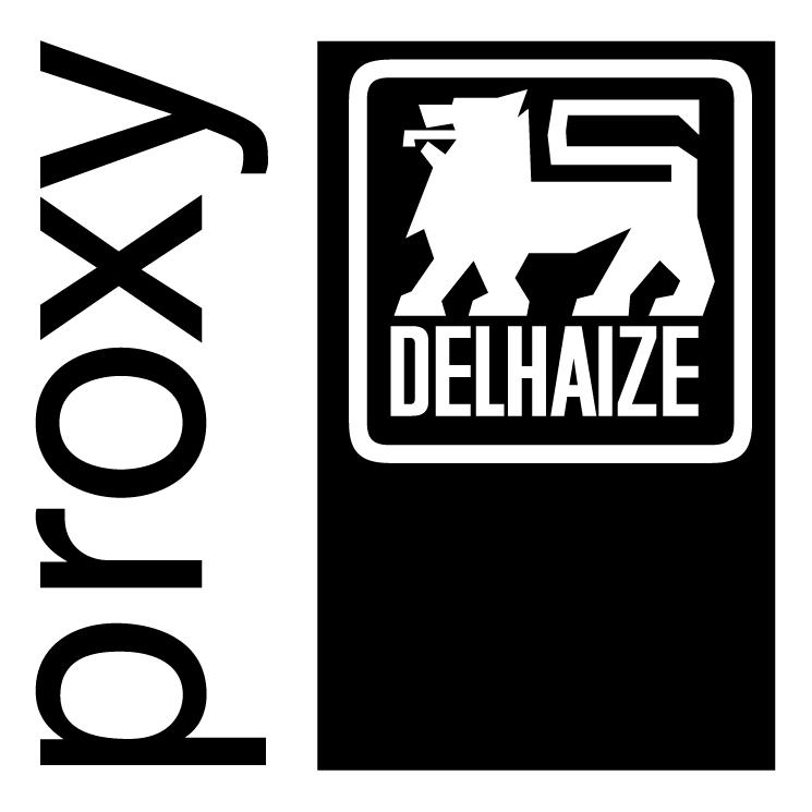 free vector Delhaize proxy