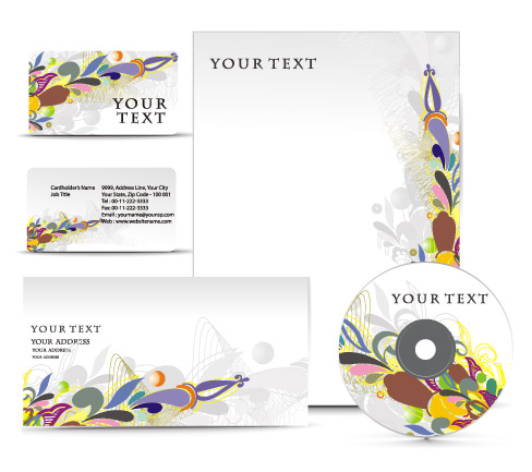 free vector Delicate leaflets and vi vector