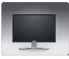 free vector Dell Flat Panel clip art