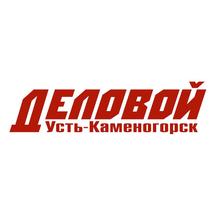 free vector Delovoy ust kamenogorsk