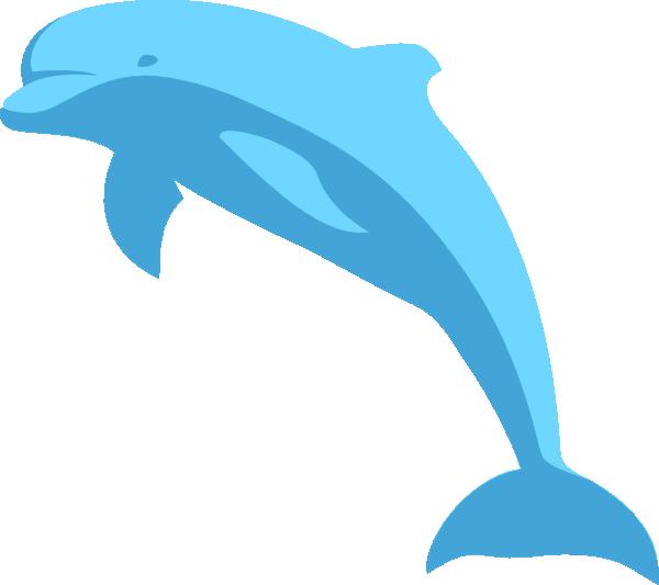 free vector Delphin clip art