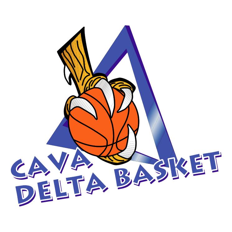 free vector Delta basket cava