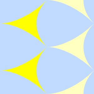 free vector Deltoids Pattern Tile clip art