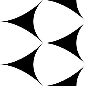 free vector Deltoids Tile clip art
