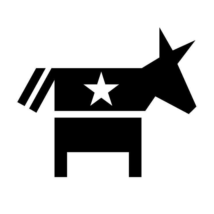free vector Democrat