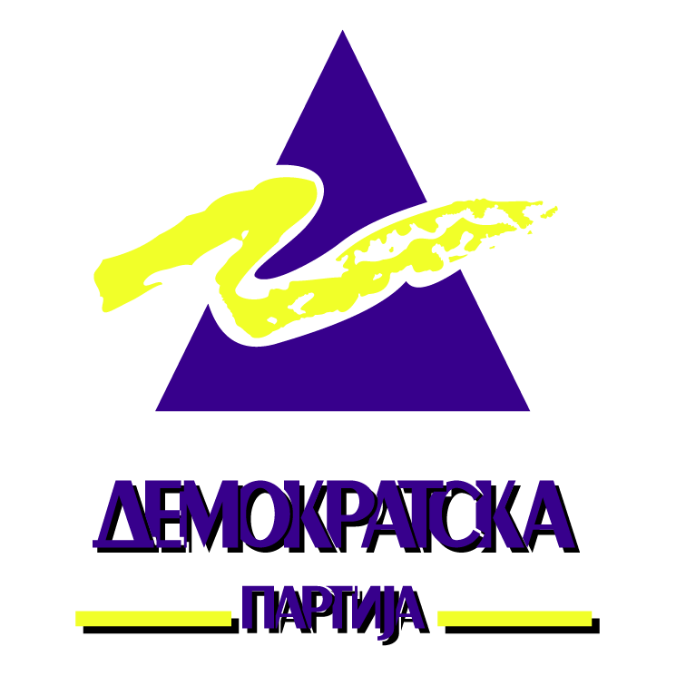free vector Demokratska partija