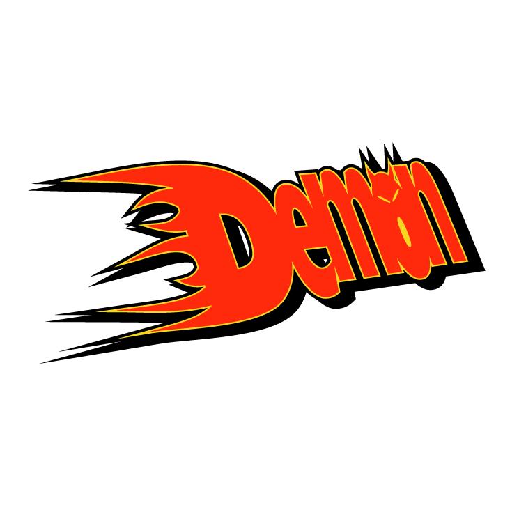 free vector Demon racing