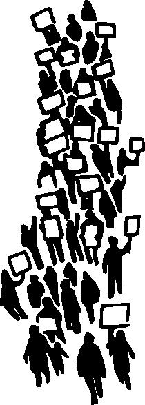 free vector Demonstration clip art