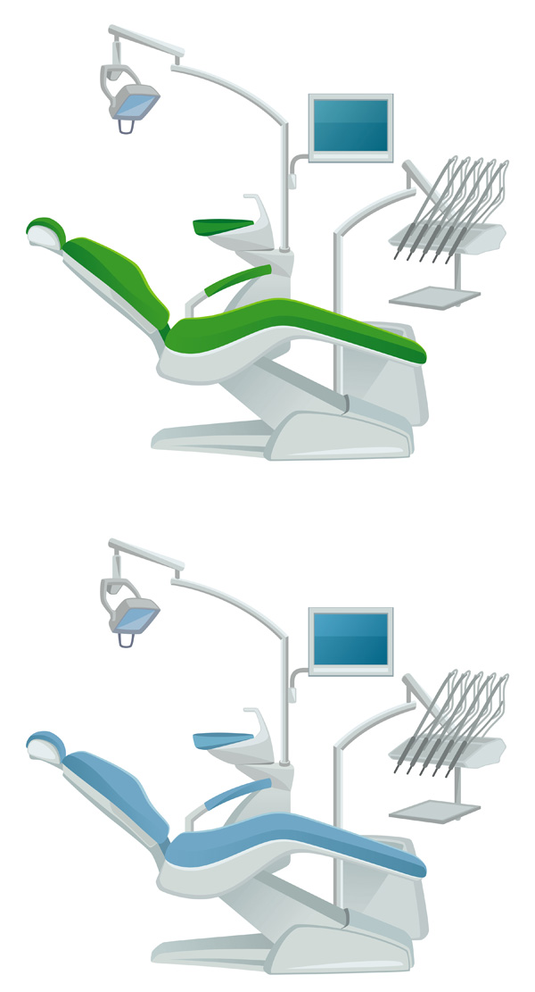 free vector Dentists theme vector