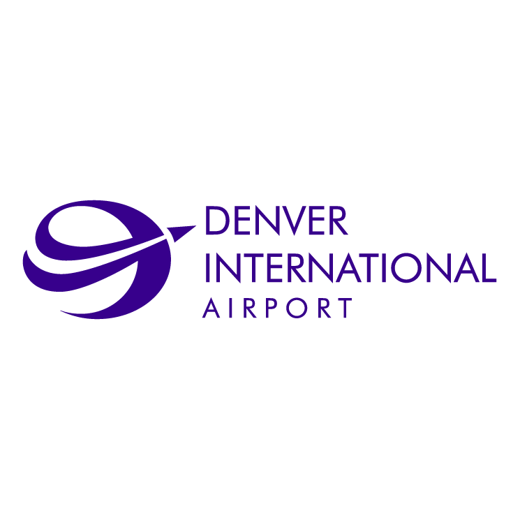 free vector Denver international airport
