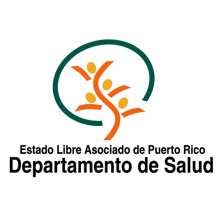 free vector Departamento de salud de puerto rico 0