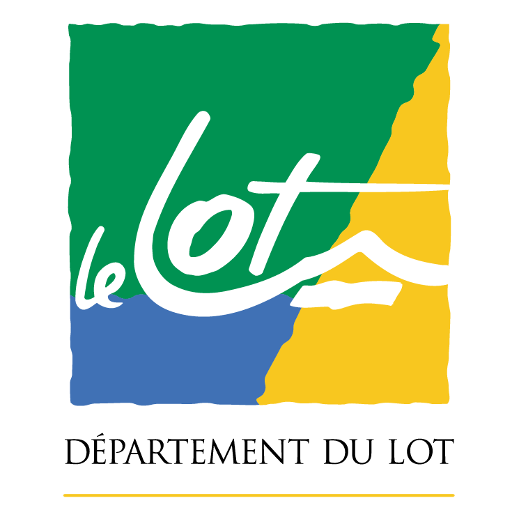 free vector Departement du lot