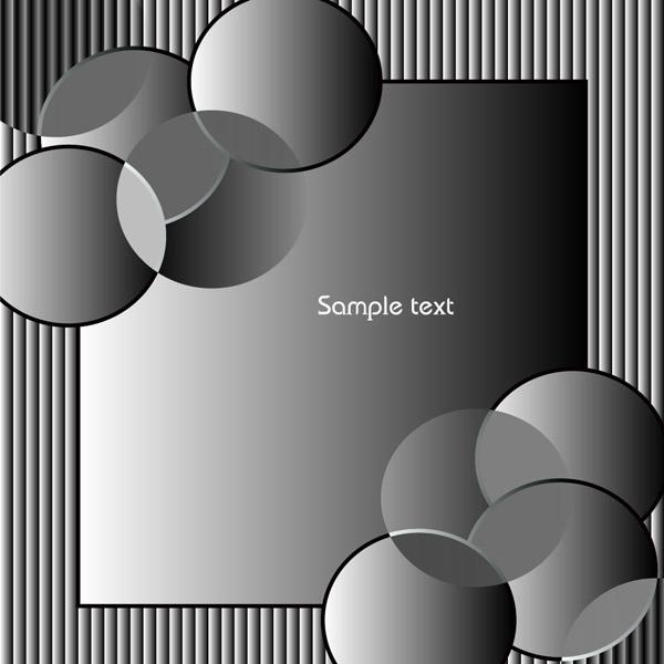 free vector Department circular elements elegant vector background