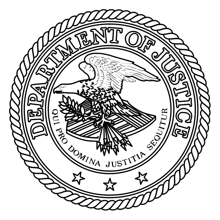 free vector Department of justice 1