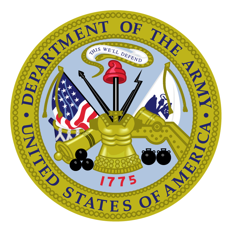 Department of the army (71175) Free EPS, SVG Download / 4 ...