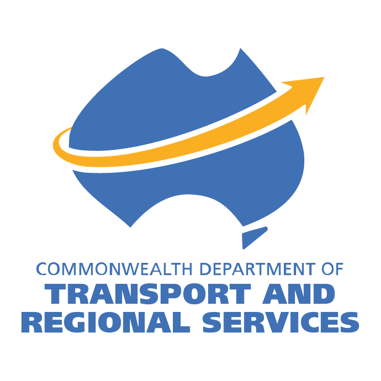 free vector Department of transport and regional services