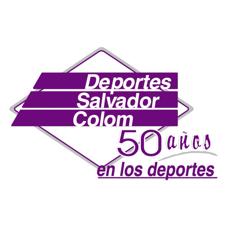 free vector Deportes salvador colom