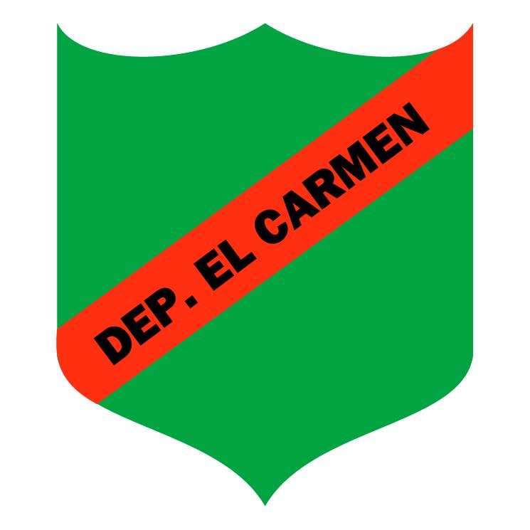 free vector Deportivo el carmen de carmelita